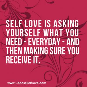 Self care Receving-Love-MLM-Quote